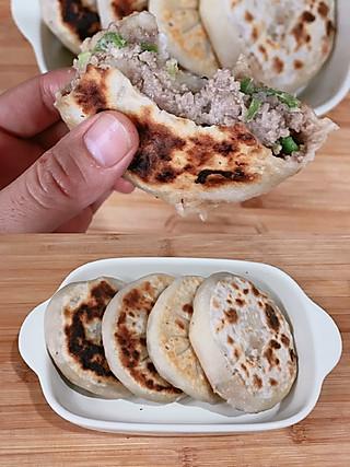 果果妈妈jwl的皮薄馅鲜的牛肉尖椒馅饼💯做法简单 早餐首选❗️