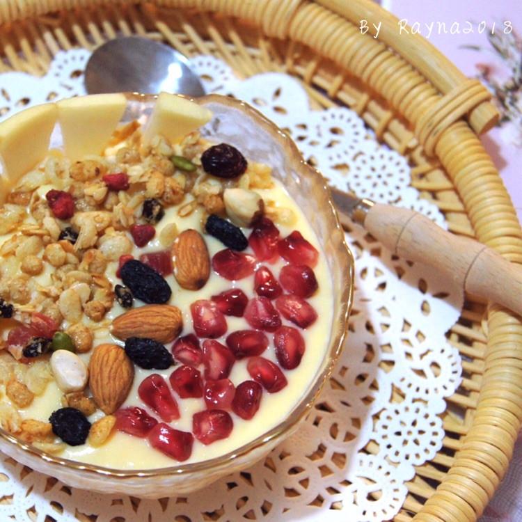 健康低脂代餐——酸奶红薯燕麦思慕雪图1