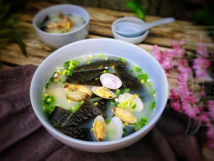 蛤蜊海鲜汤图9