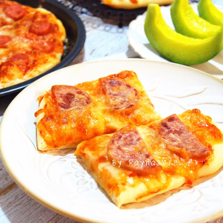 暖胃又暖心的快手早餐香肠披萨🍕图3