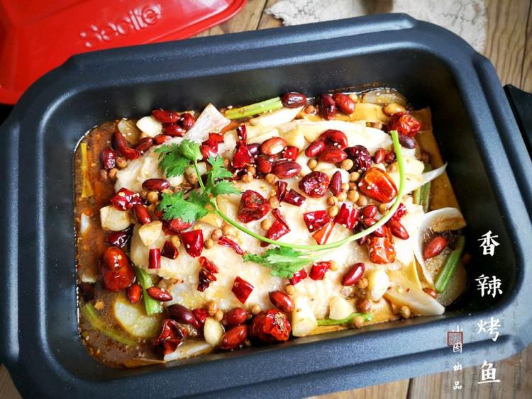 在家也能做烤鱼?不用烤箱,做法简单,鱼肉细嫩,配菜也很入味!【附做菜小贴士】图1