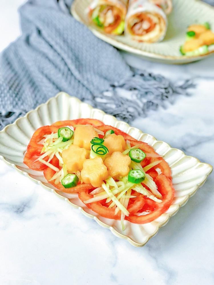 轻食早餐㊙️鸡肉时蔬卷饼🔥时蔬哈密瓜沙拉🥗图4