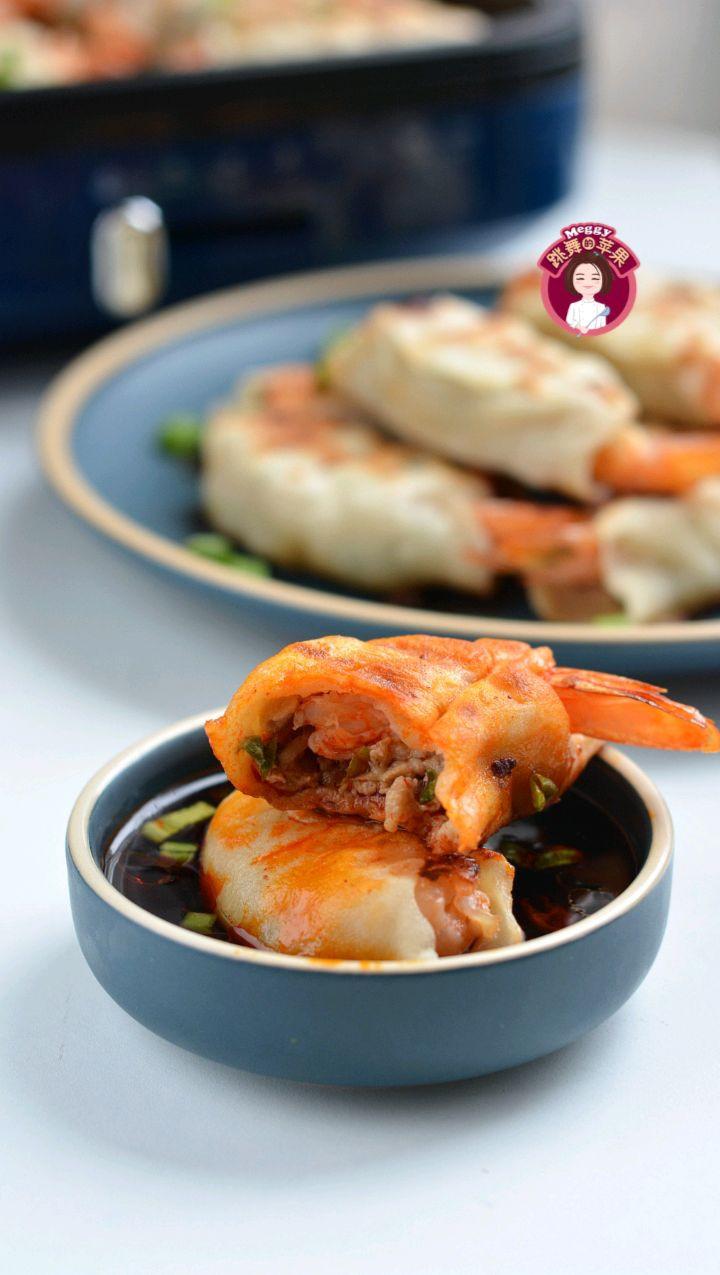 传统小吃锅贴的家常做法,香嫩营养好吃又健康!图6