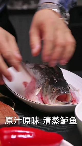 不食人间烟火的女子的原汁原味清蒸鲈鱼