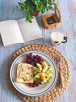 诗风的健康低脂从早餐开始!十分美味