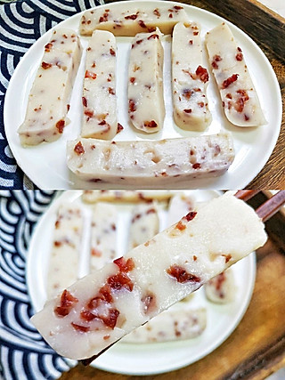 益君美食分享的一道老少皆宜的小甜点!奶香浓郁,软糯香甜!