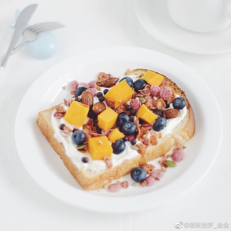 关于淡奶油土司的早餐图4