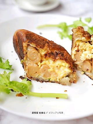邵筅笙的🔥减脂早餐🔥鸡胸肉爆炒意大利面🔥