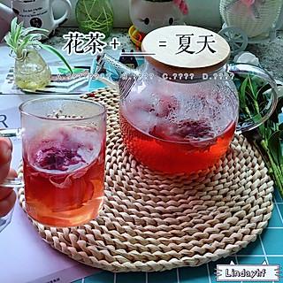 lindayhf的午后的下午茶:花茶+???=夏天