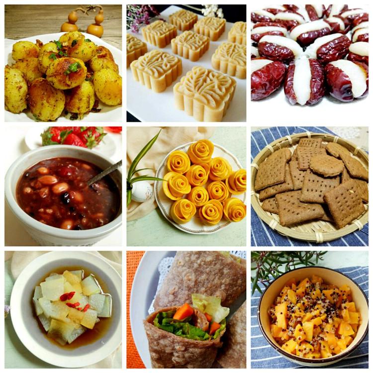 素食也可以做出千变万化的菜品,也可以烹调出百种美味!图5