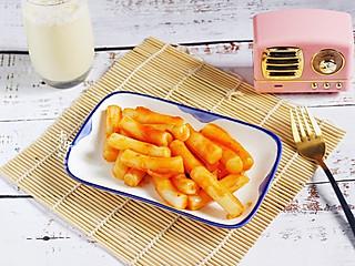 木华柚柚妈的韩式炒年糕和豆浆