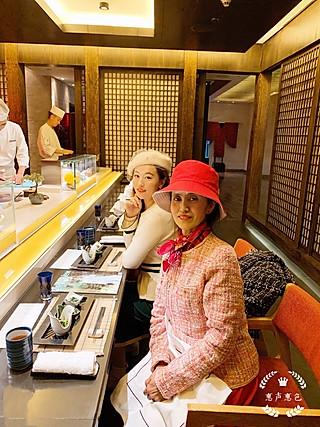 惠声惠色117的国贸大饭店滩万日本料理Nadaman十月全新寿司套餐