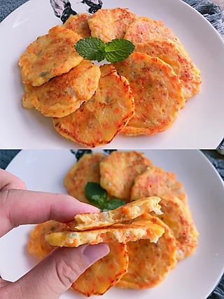 莫哂之的自制宝宝辅食❗️无敌软嫩的鳕鱼蔬菜小饼❗️
