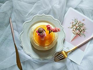 香橙蒸蛋糕