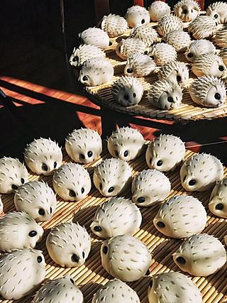 大旭旭GAO的妈妈们在准备正月十五的小刺猬,太好吃了😋