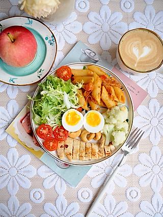 椛吃的做份美味营养的早餐,是唤醒早晨的仙气,早安~