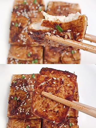 果果妈妈jwl的【烤豆腐】3个步骤自制超简单的烤豆腐‼️
