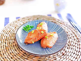阿茶子-创意料理组的蜜汁烤鸡翅