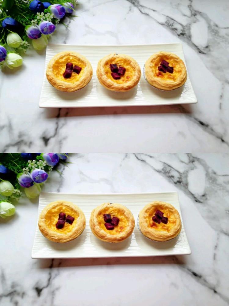 紫薯和蛋挞的完美搭配–紫薯蛋挞👍👍👍图2