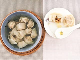 小录录的蟹黄水饺+虾肉混沌