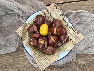 西贝梓萌的十月板栗笑哈哈,在家也能做出香甜板栗