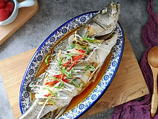 salila82的清蒸海鲈鱼