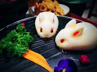 其实Alice是一只熊的探店|有超可爱兔纸奶酪的『寒暄京菜』😍😍奶味浓郁,香甜顺滑,必点!