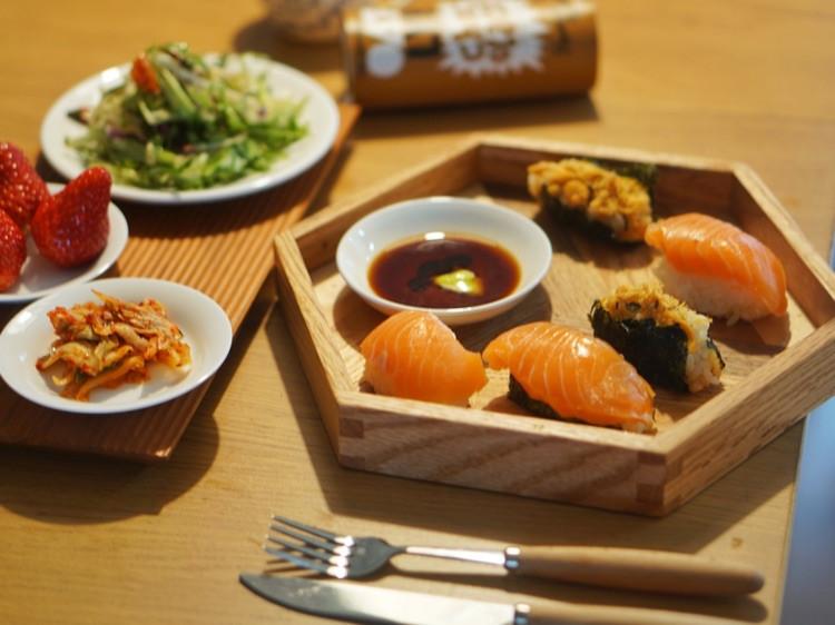 周末加餐,三文鱼vs 韩式年糕图2