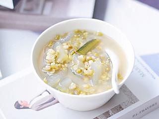 食光饥的消暑解渴的绿豆汤这样做㊙️秒杀所有糖水铺❗️