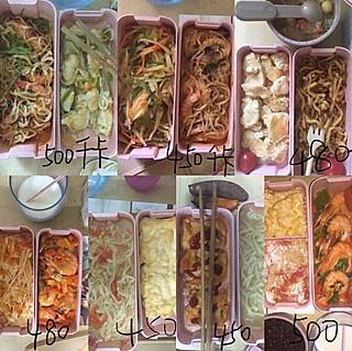 尤珂里里的#一周增肌午餐#