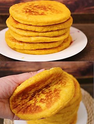 酷酷的咸肉很酷酷的南瓜饼这样做,好吃到没朋友~