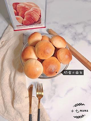 小七_mama的奶香小面包&豆沙花生面包卷