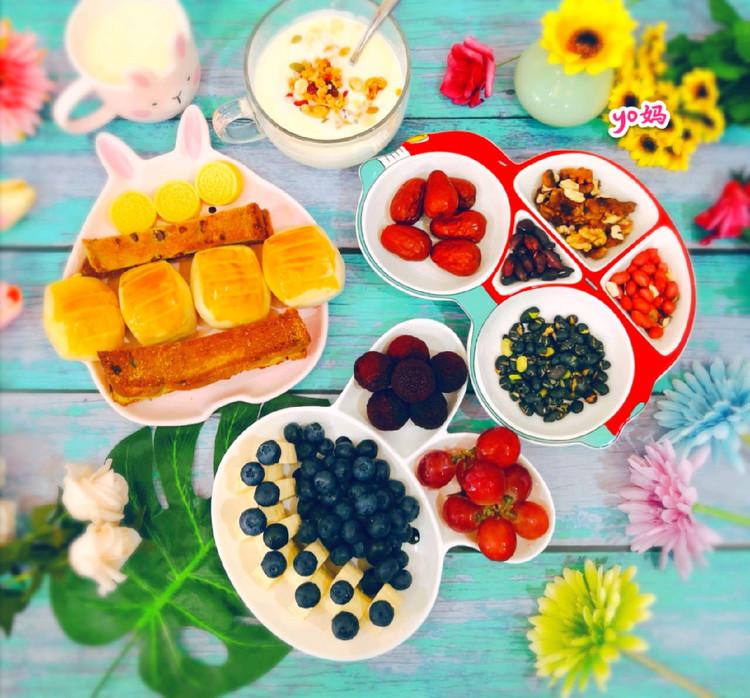 来个造型餐盘合集,整个早餐都变得可爱了(๑• . •๑)!图1