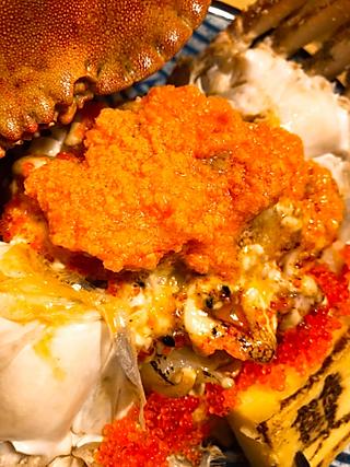 Cicismiler的😍神奇的啤酒拉面,比脸还大的面包蟹盖饭,超满足的海胆饭!
