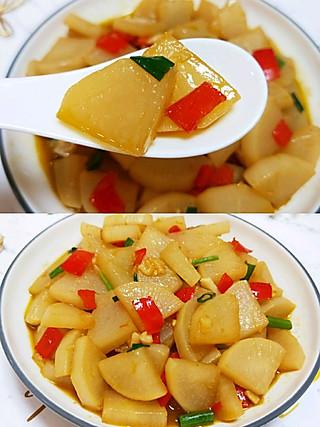 瑜欢欢的💝简单易做又超下饭❗~家常萝卜片~