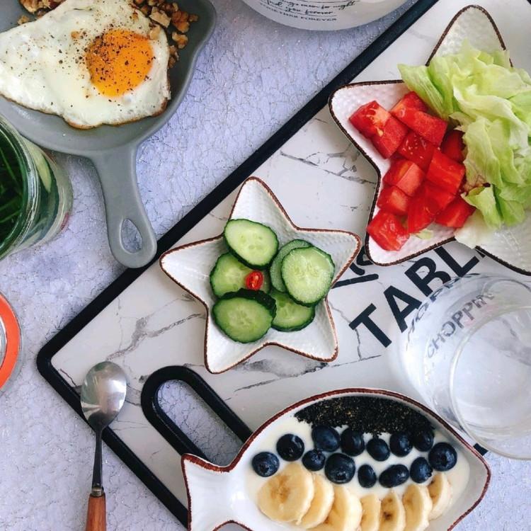 Ⓜ️D159Molly元气减脂•西红柿西生菜沙拉(无沙拉酱)图1