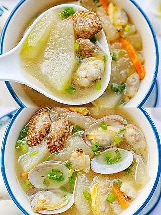 西蘭的无敌鲜美的冬瓜花蛤汤,健康营养,简单快手~