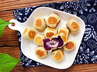 开心123jiajia的爆浆紫薯仙豆糕