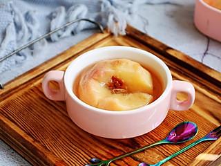 胸有成竹1966的冰糖蒸水蜜桃~止咳平喘食疗小秘方