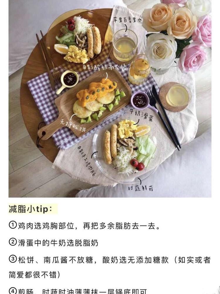 优雅的西式双人减脂套餐‼️图3