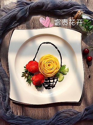一诺食光的有仪式感的水果拼盘