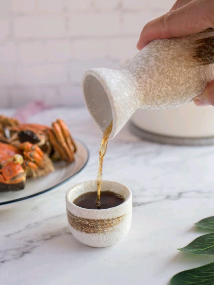 吃螃蟹要来一杯热热的黄酒才有仪式感呢图4