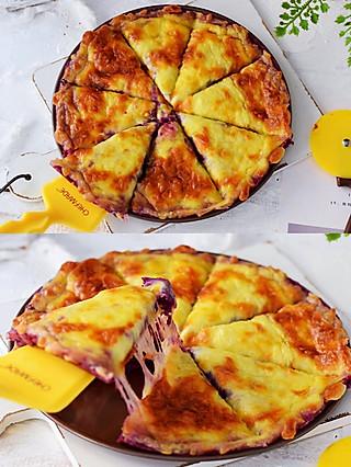 蝴蝶姑娘的㊙️🔥好吃到爆!不用和面,不用发酵就能做披萨,成品香甜软糯又拉丝,一出炉就抢光了!