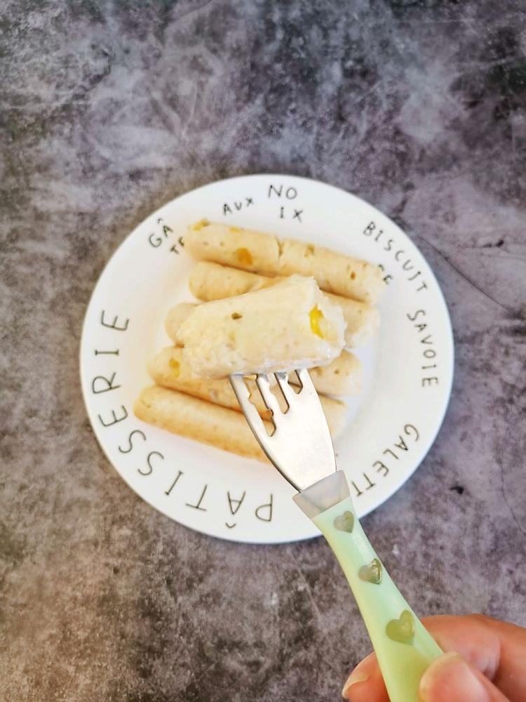 自制无添加玉米鸡肉肠,自己动手给孩子做一锅,孩子超爱吃(⑉°з°)-♡✌✌✌图6