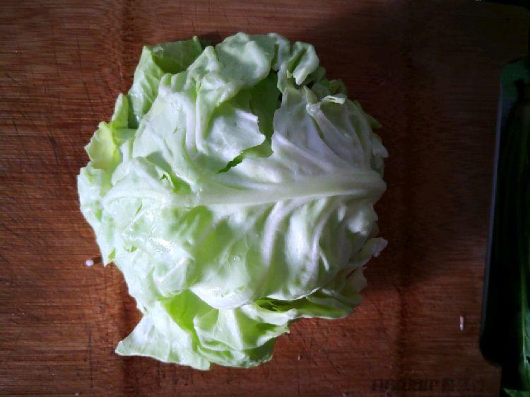 用早餐叫你起床——高丽菜鸡肉卷图5