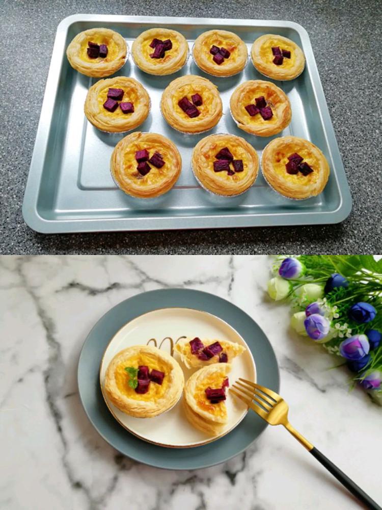 紫薯和蛋挞的完美搭配–紫薯蛋挞👍👍👍图9