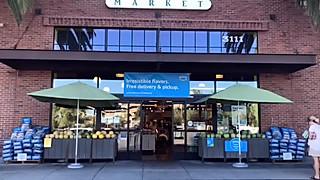 女儿的餐桌的美国超市Whole Foods Market