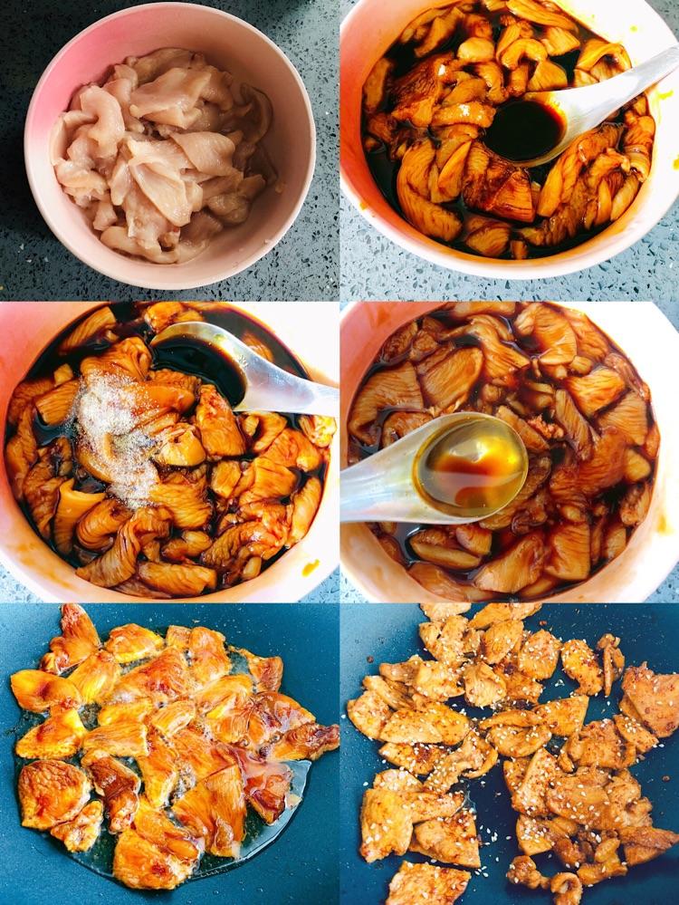 🔥自己在家也可制作的美味❗香辣诱人的鸡胸肉片❗图2