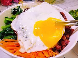 白白不想吃饭饭的十分钟搞定懒人韩式拌饭✨营养美味全都用谁会不爱它💕