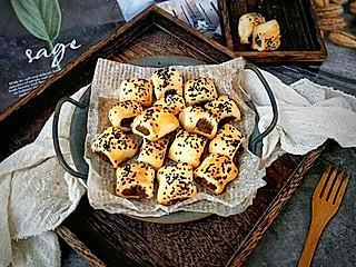 糖小田yuan的一口一个,好吃到听不到下来的枣蓉一口酥!